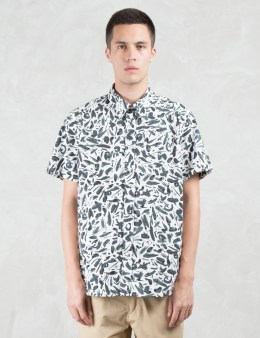 Paul Smith Paint Drop Pattern S/S Shirt Picture