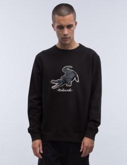 maharishi Alligator Crewneck Sweatshirt Picture