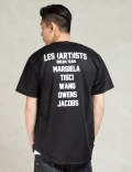LES (ART)ISTS Black Dream Team Fashion Baseball Jersey Picture
