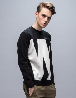 White Mountaineering W Contrasted Sweatshirt Picture