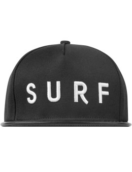 STAMPD Black Surf Logo Hat Picture