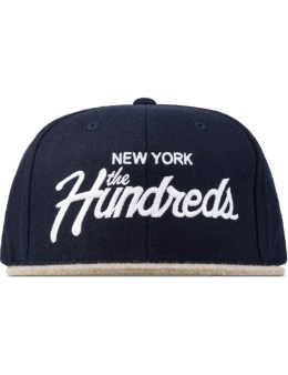 The Hundreds Blue Team Snapback Picture
