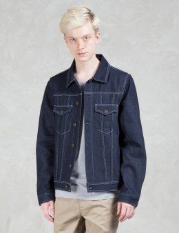 Daily Paper Shield Logo Denim Jacket Picture