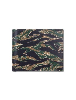 Levi's Leather Camo Pattern Bifold Wallet Picture