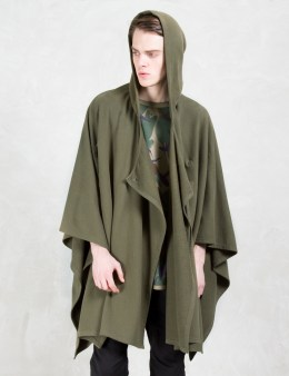 maharishi 3xdry Long Sweat Poncho Picture