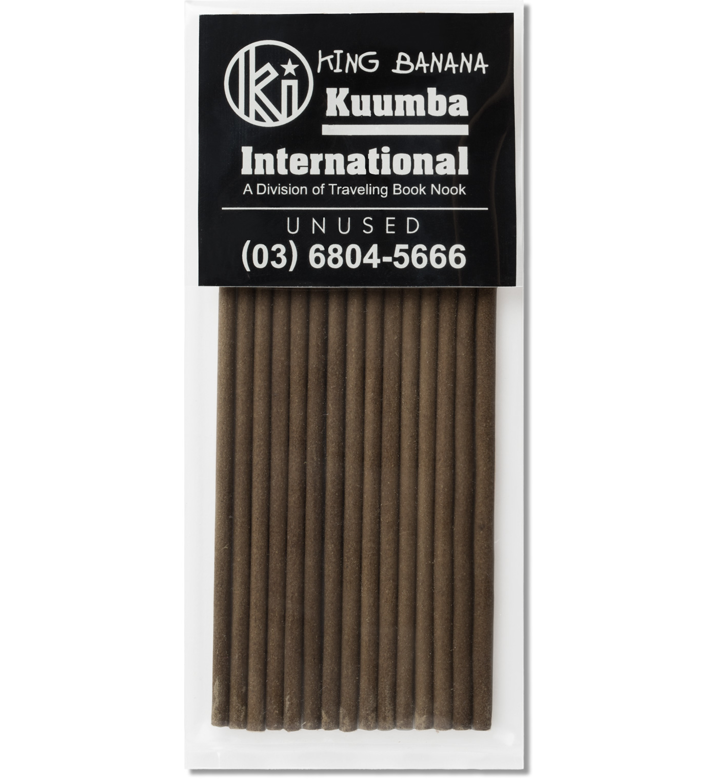 UNUSED King Banana Incense