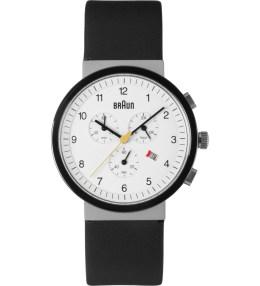 Braun White BN0035WHSLBKG Watch Picture