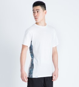 The Quiet Life White Liberty Madras Side Panel T-Shirt Picture