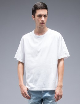 MARNI Classic S/S T-Shirt With Woven Back Panel Picture