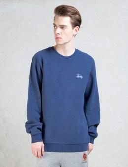 Stussy Reverse Overdye Crewneck Sweatshirt Picture