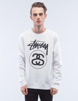 Stussy Stock Link Crewneck Sweatshirt Picture