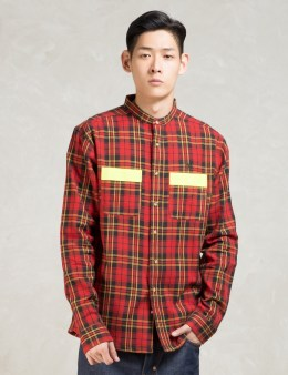 10.DEEP Red L/S Safety First Workshirt Picture