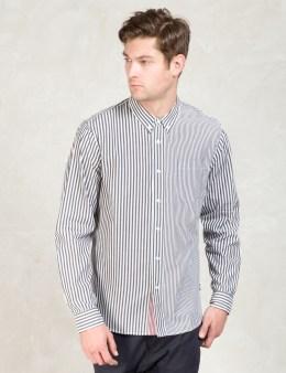 Stussy Black Multi Stripe Shirt Picture