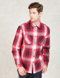 Stussy Red Heavy Brushed Flannel Picture