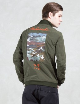 maharishi Crew Flight Jacket Picture