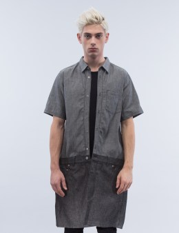 KIDILL Denim Fake Jumsuit S/S Shirt Picture