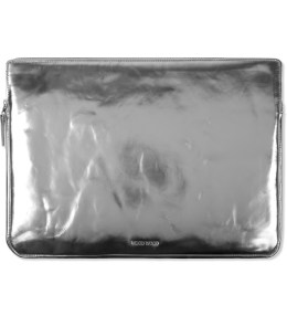 "Wood Wood Silver 15"" Laptop Bag Picture"