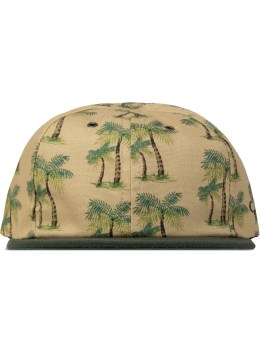 The Ampal Creative Tan/Green Palms 6-Panel  Picture