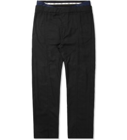 Opening Ceremony Black Neils Suiting Double Waistband Pants Picture