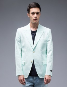 MARC JACOBS Single Breast Seesucker Blazer Picture