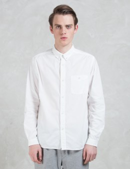 White Mountaineering Overdyed Cotton Broad Shirt Picture