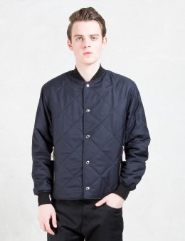 MAISON KITSUNE Cody Quilted Jacket Picture