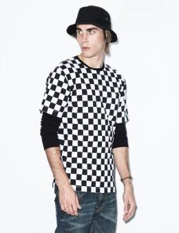 FUCT SSDD White/Black Checker Flag T-Shirt Picture