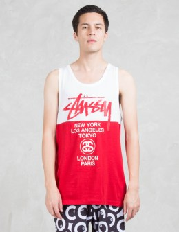 Stussy City Block Tank Picture