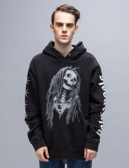 Palm Angels Metal Skull Hoody Sweatshirt Picture