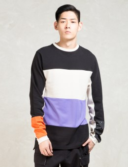 Kommon Universe Black Celsius Crewneck Sweatshirt Picture