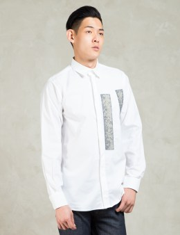 Matthew Miller White Shirt With Kvadrat Applique Picture