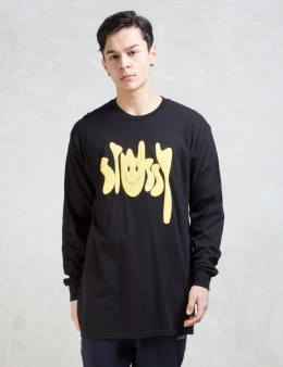 Stussy Stussy Smiley L/SL T-Shirt Picture