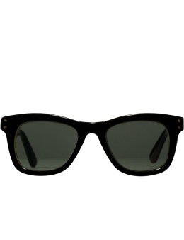 KOMONO Black Allen Tortoise Sunglasses Picture