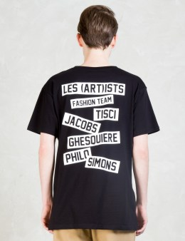 LES (ART)ISTS Fashion Team T-Shirt Picture
