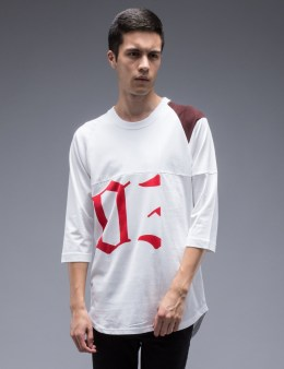 FACETASM Patchwork Reglan L/S T-Shirt Picture
