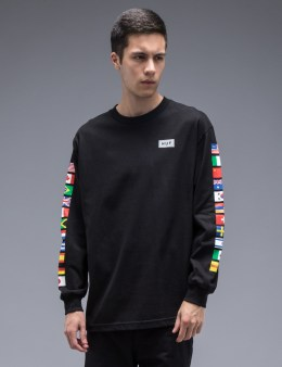 HUF Flag L/S T-Shirt Picture
