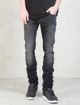 MARCELO BURLON Stone Wash Slim Fit Denim Jeans Picture