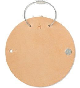 Hender Scheme Natural Leather Circle Keyholder Picture