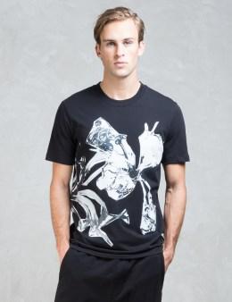 McQ Alexander McQueen Crew Floral S/S T-Shirt Picture