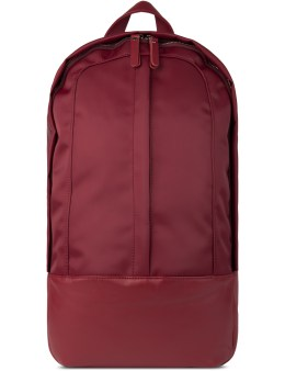 HAERFEST Red Nylon Arch Backpack Picture