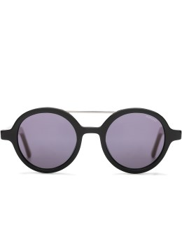 KOMONO Glossy Black Vivien Sunglasses Picture