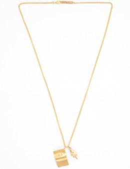 AMBUSH 'Die Jung' Charm Necklace Picture