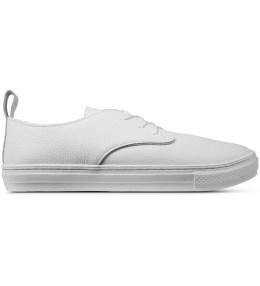 buddy White Corgi Low Gramp Shoes Picture
