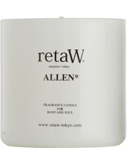 retaW White Allen Candle Picture