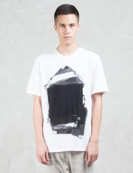 HELMUT LANG Transparency Print S/S T-Shirt Picture