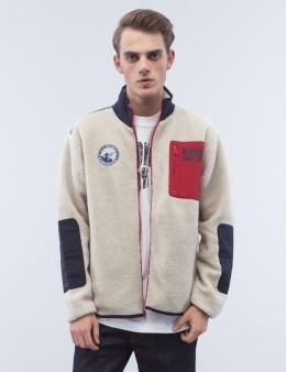 Billionaire Boys Club Sherpa Fleece Zip Through Jacket Picture