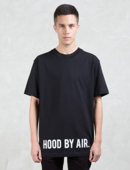 Hood By Air. Hood By Air Logo S/S T-Shirt Picture