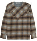 EOTOTO Brown Western Pullover Check Shirt Picutre