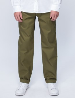 Head Porter Plus Chino Pants With Check Gusset Picture