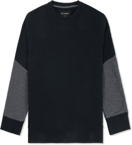 ZANEROBE Black Tracker Crewneck Sweater Picture
